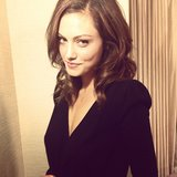 Phoebe Tonkin got her hair done for an event. Source: Instagram user phoebejtonkin