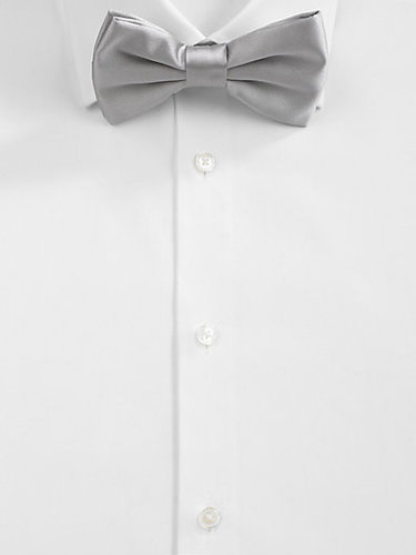BOSS Black Solid Bow Tie