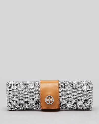 Tory Burch Clutch - Chunky Straw