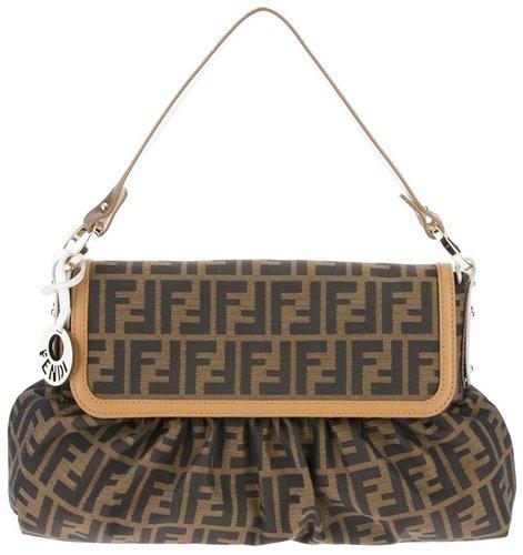 Fendi monogram shoulder bag
