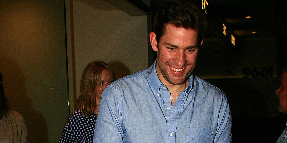 John Krasinski Waves Goodbye to The Office With Emily Blunt