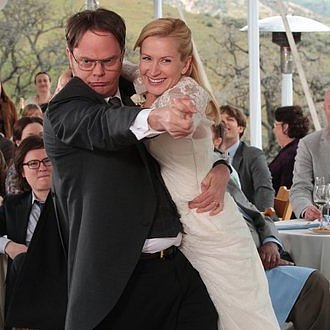 Dwight and Angela&#039;s Wedding Pictures on The Office