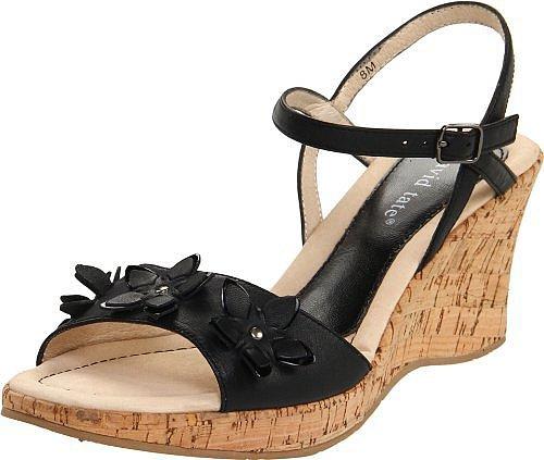 David Tate Women's Flower Ankle-Strap Sandal