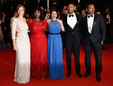 The cast of Fruitvale Station, including Ahna O'Reilly, Octavia Spencer, Melonie Diaz, Michael B. Jordan, and Ryan Coogler, teamed up for the red carpet premiere of their film.