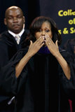 Michelle Obama addressed 600 graduates at Maryland's oldest historically black university.
