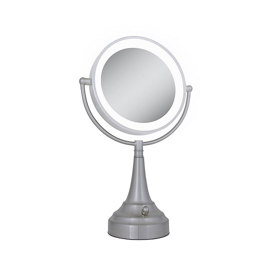 Your graduate will need a high-tech mirror to look her best for all those interviews. This Zadro Next Generation LED Lighted Vanity Mirror ($60) works especially well in small spaces (like her tiny studio apartment).
