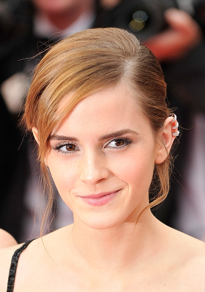Emma Watson wore a cool ear cuff to the premiere of The Bling Ring.
