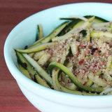 Paleo Zucchini Pasta Recipe