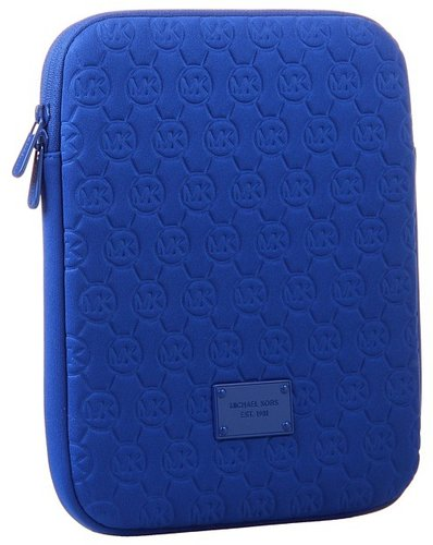 MICHAEL Michael Kors - Electronics Neoprene Tablet Case (Royal) - Bags and Luggage