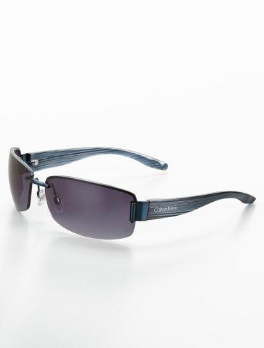 Rimless Rectangular Sunglasses