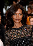 Liya Kebede played up her eyes for the Jimmy P. (Psychotherapy of a Plains Indian) premiere with dark kohl liner.