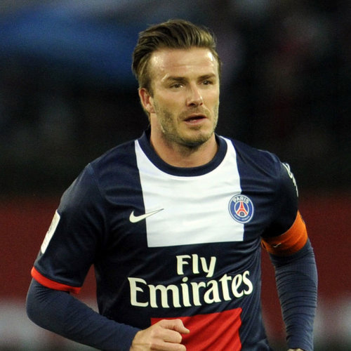 David Beckam Playing His Final Soccer Game Picture