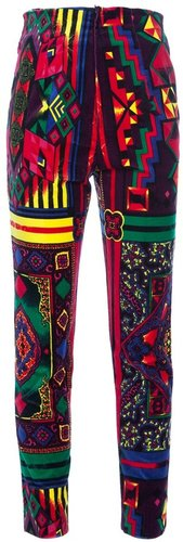 Gianni Versace Vintage printed trouser