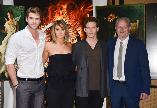 Liam Hemsworth, Jennifer Lawrence, Sam Claflin, and director Francis Lawrence were in Cannes.