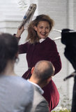Kate Hudson Brings Bingham to a Photo Shoot