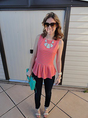 Pretty in Peplum