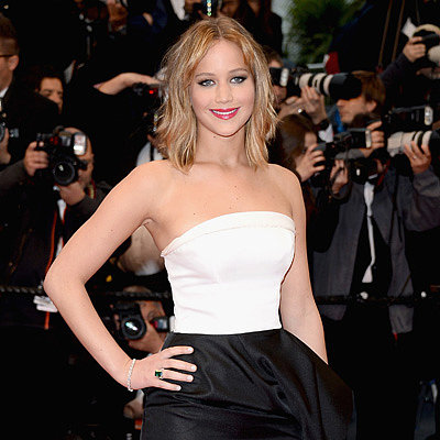 Jennifer Lawrence at 2013 Cannes Film Festival