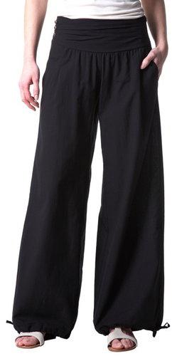 Puff-shape trousers
