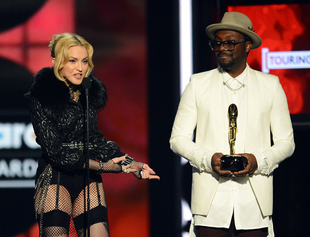 Madonna Goes Pantless to Pick up a Billboard Award