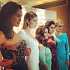Megan Gale Alex Perry At Cannes; Doutzen Kroes, Cheryl Cole
