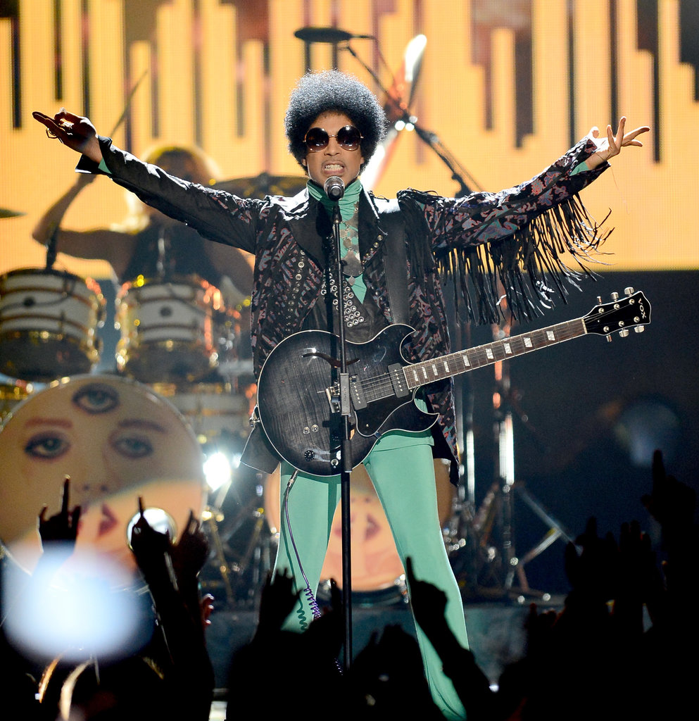 Prince performed during the Billboard Music Awards.