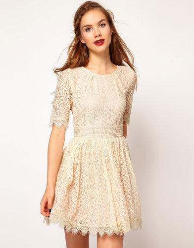 Darling Amelia Lace Skater Dress