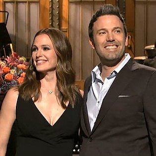 Ben Affleck's SNL Monologue With Jennifer Garner | Video