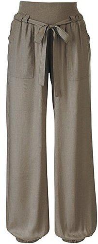 Harem Pants with Drawstring Waist