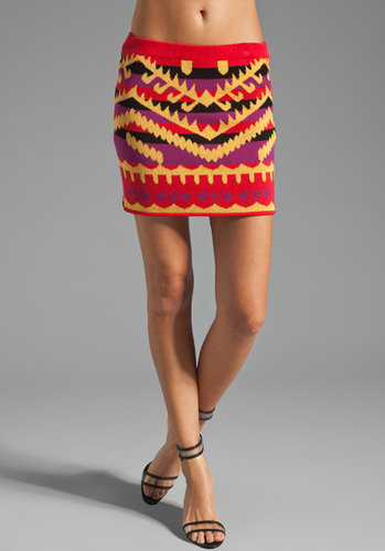 Mad Love Indian Summer Intarsia Skirt