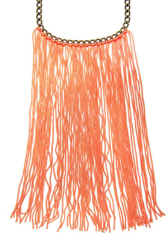 TOUCH - Fringed necklace