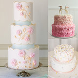 25 Supersweet and Girlie Wedding Cakes
