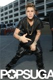 Justin Bieber was swagging out behind the scenes at the Billboard Music Awards.