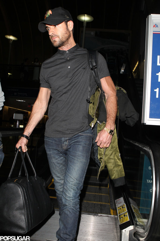 Did Justin Theroux Have a Bachelor Party in NYC?