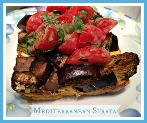 Gluten Free Mediterranean Strata