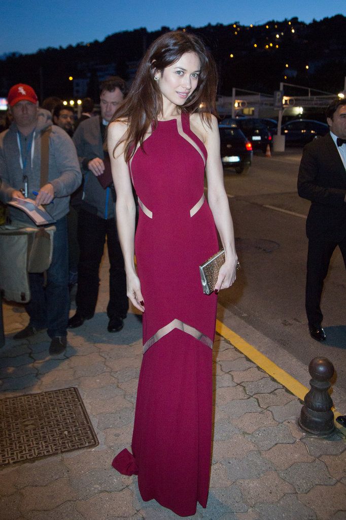 Olga Kurylenko at Vanity Fair and Chanel's dinner in Cannes.