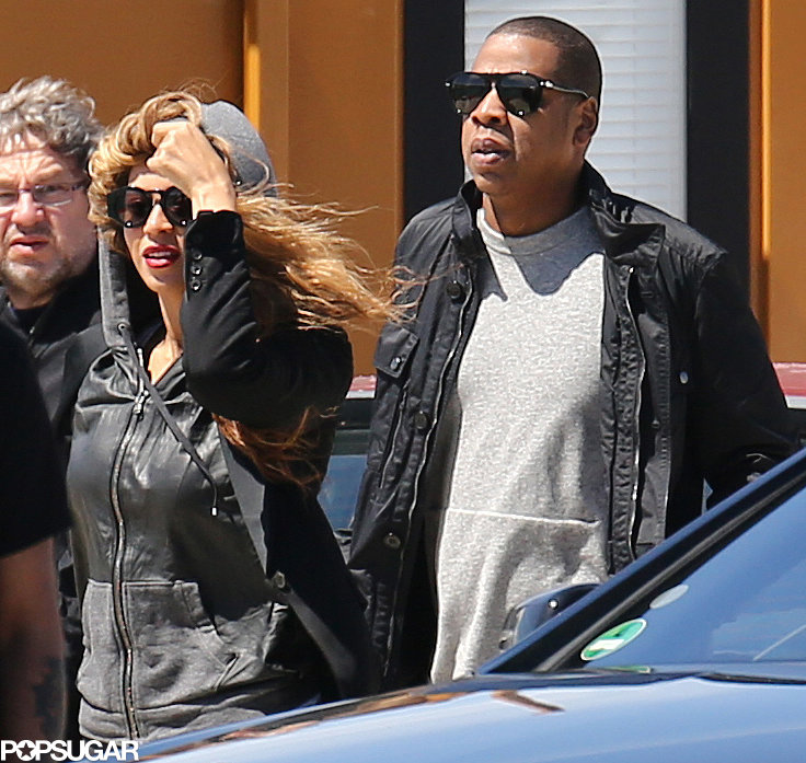 Jay-Z and Beyoncé Knowles arrived in the South of France.