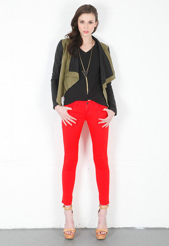 Hannah Slim Crop Jean in Making Me Blush - by Siwy Denim
