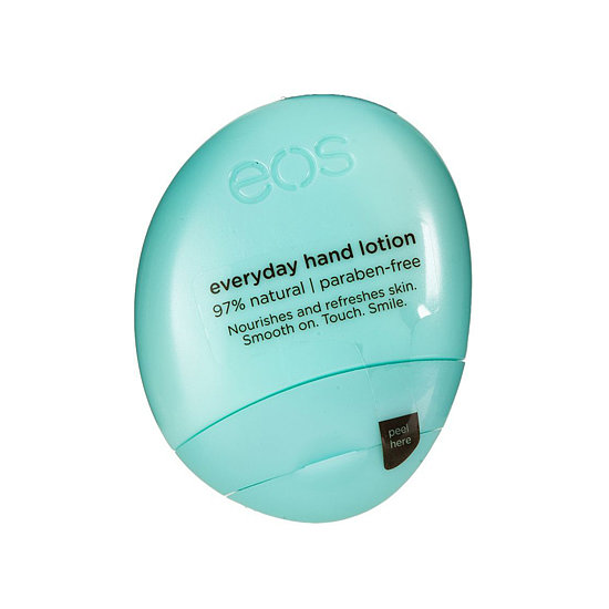 Everyone loves Eos lip balms, but the brand's Travel-Size Everyday Hand Lotion ($4) is ace for carrying in your purse for on-the-go moisture.