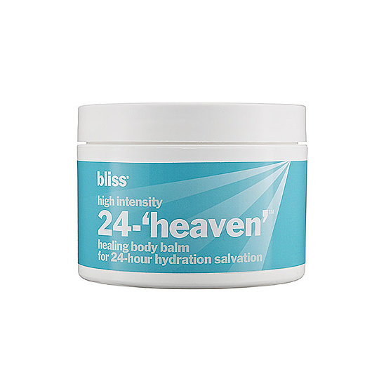 If you've overdone it in the sun, then Bliss's 25-Heaven body balm ($10) will be your suitcase's best friend. Colloidal oatmeal and pansy extract soothe your parched skin in no time.