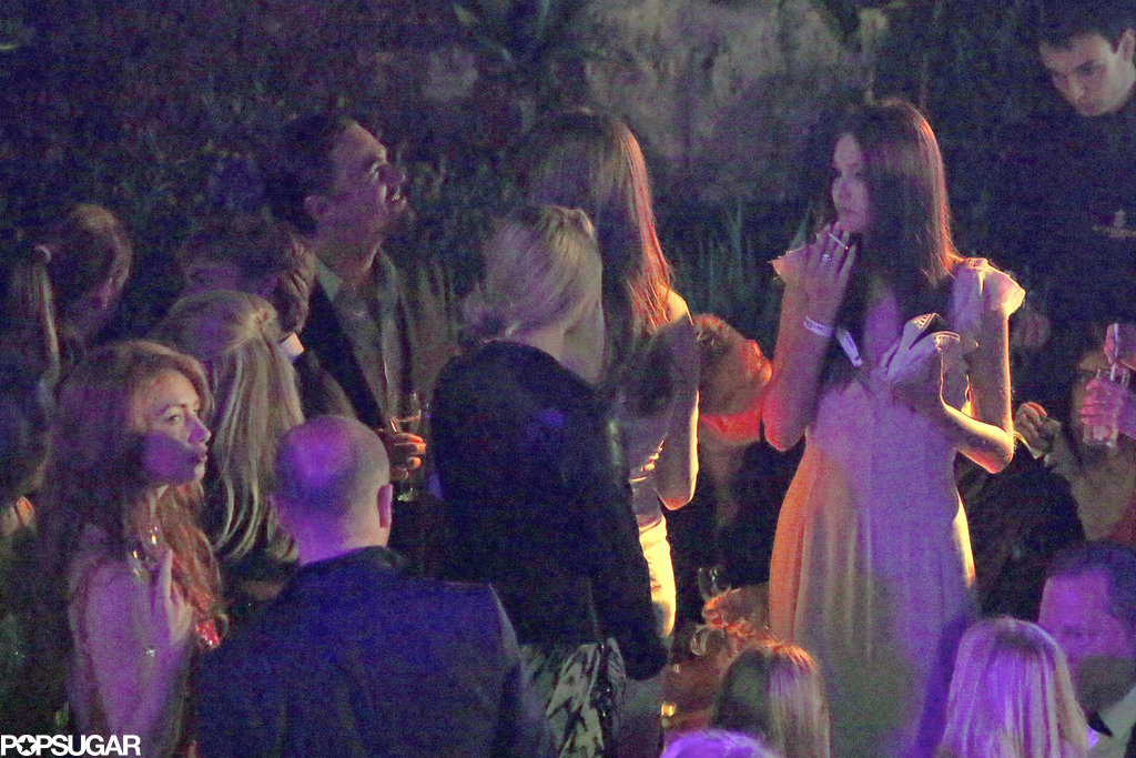 Leonardo DiCaprio attended the de Grisogono party on Tuesday.