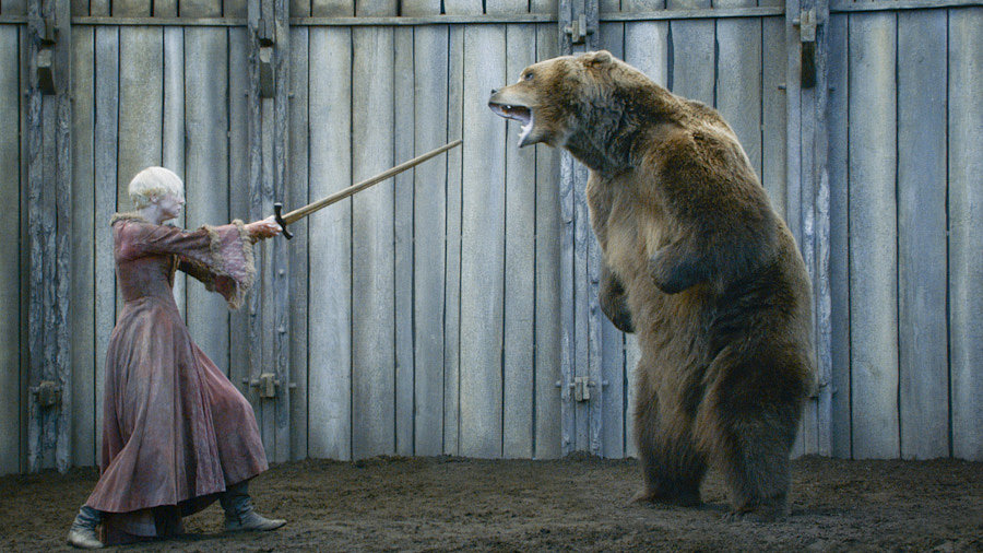 Brienne Battles a Bear