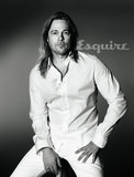 Brad Pitt posed in Esquire's June/July 2013 issue. Source: Max Vadukul for Esquire