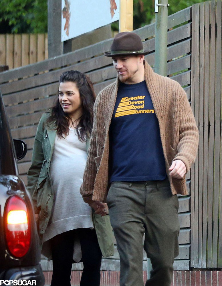 Channing and Jenna Check Out Matthew McConaughey Overseas