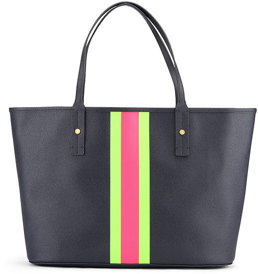C Wonder's Printed Stripes Tote ($68) offers a bright update on the classic.