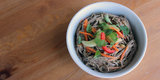 Soba Good: Gluten-Free Noodle Salad With Ginger Peanut Dressing