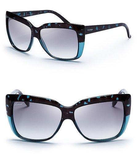 Gucci Wayfarer Cat Sunglasses