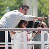 Matt Damon Having Lunch With Family in Cannes | Pictures