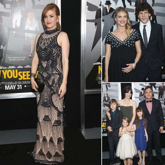 Isla Fisher Sticks to NYC For the Premiere of Now You See Me