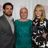 Emma Stone and Andrew Garfield at Breast Cancer Event in NJ
