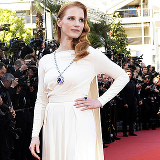 Jessica Chastain Wears Elizabeth Taylor's Jewels